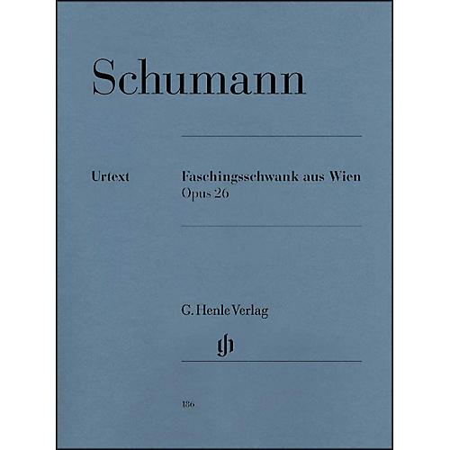 G. Henle Verlag Carnival Of Vienna Op. 26 By Schumann