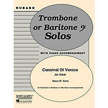 Rubank Publications Carnival of Venice (Air Varie) Rubank Solo/Ensemble Sheet Series
