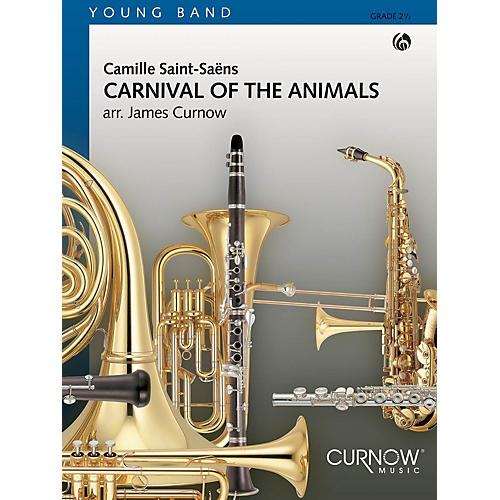 Curnow Music Carnival of the Animals (Grade 2.5 - Score Only) Concert Band Level 2 1/2 Arranged by James Curnow