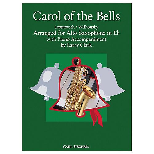 Carl Fischer Carol Of The Bells - Alto Sax With Piano Accompaniment