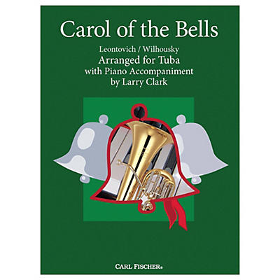 Carl Fischer Carol Of The Bells - Tuba With Piano Accompaniment
