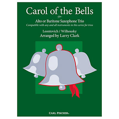 Carl Fischer Carol of the Bells Comp-AltSax