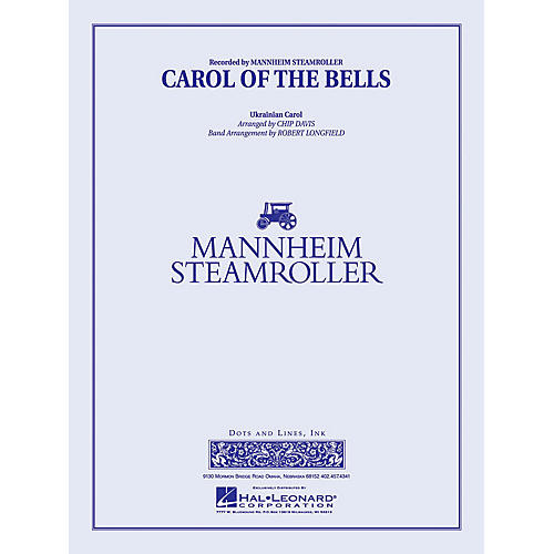 Mannheim Steamroller Carol of the Bells Concert Band Level 3 Arranged by Robert Longfield