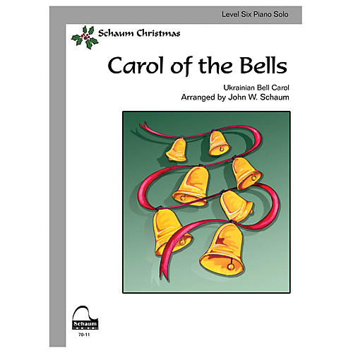 SCHAUM Carol of the Bells Educational Piano Series Softcover