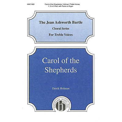 Hinshaw Music Carol of the Shepherds UNIS composed by Derek Holman
