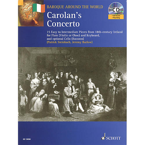 Schott Carolan's Concerto Misc Series Softcover with CD