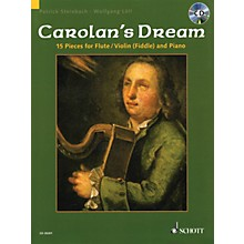 Schott Carolan's Dream (15 Pieces for Flute/Violin (Fiddle) and Piano) Instrumental Folio Series