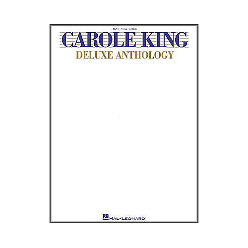Hal Leonard Carole King - Deluxe Anthology Book