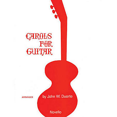 Novello Carols for Guitar Solo Music Sales America Series