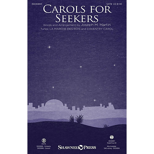 Shawnee Press Carols for Seekers SATB arranged by Joseph M. Martin