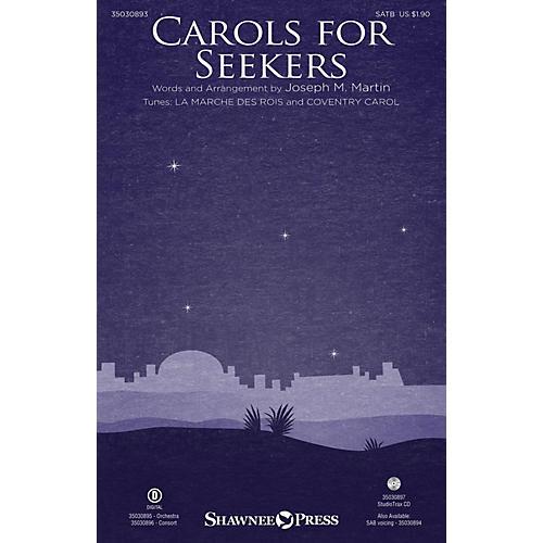 Shawnee Press Carols for Seekers Studiotrax CD Arranged by Joseph M. Martin