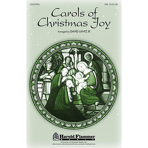 Shawnee Press Carols of Christmas Joy SAB arranged by David Lantz III