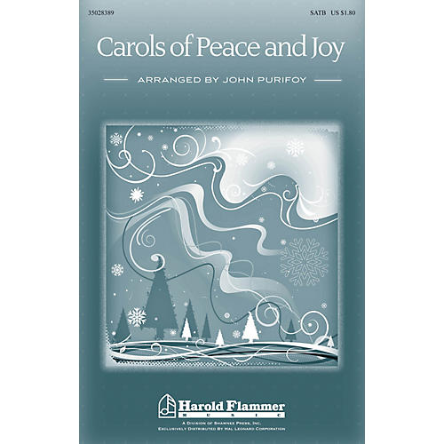 Shawnee Press Carols of Peace and Joy SATB arranged by John Purifoy