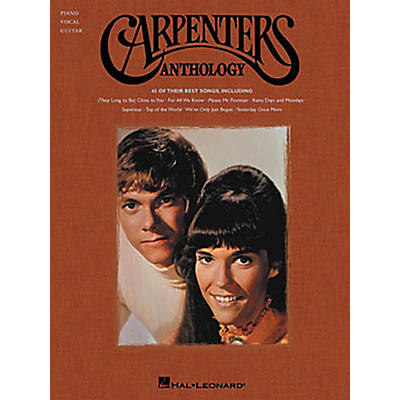 Hal Leonard Carpenters Anthology Piano, Vocal, Guitar Songbook
