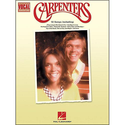 Hal Leonard Carpenters Note-for-Note Vocal Transcriptions