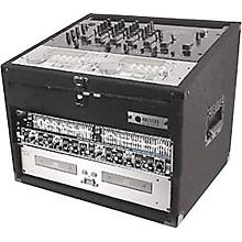 Open BoxOdyssey Carpeted Combo Mixer Rack Case