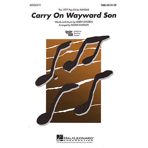 Hal Leonard Carry On Wayward Son TBB arranged by Roger Emerson