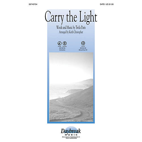 Daybreak Music Carry the Light IPAKO Arranged by Keith Christopher