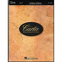 Hal Leonard Carta Manuscript Paper # 9 - Spiralbound, 9 X 12, 96 Pages, 12 Stave