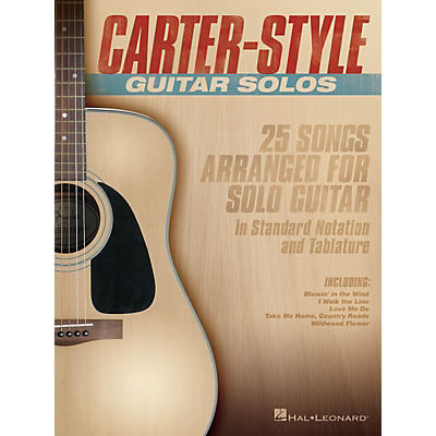 Hal Leonard Carter-Style Guitar Solos Guitar Collection Series Softcover Performed by Carter Family