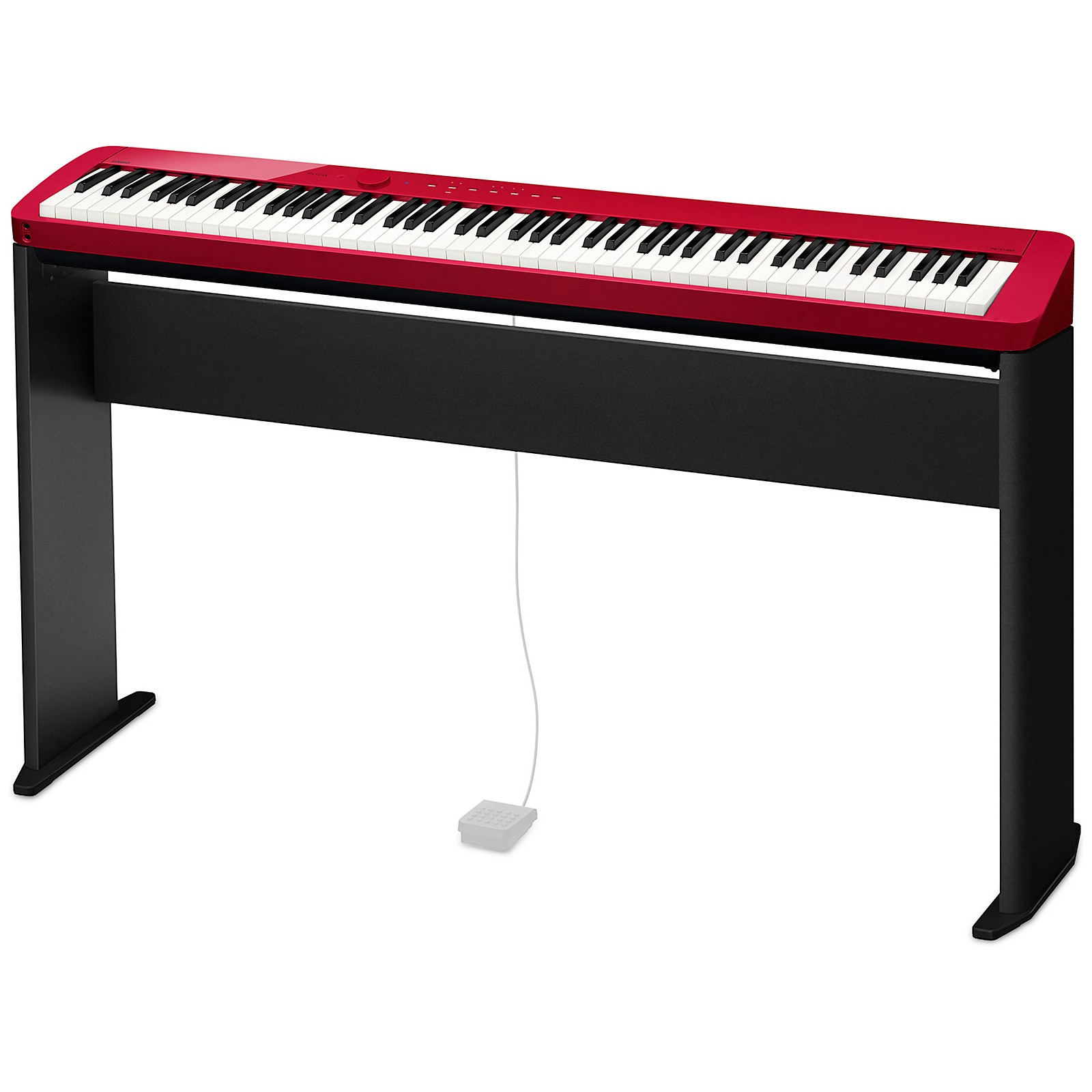 Casio Casio PX-S1000 Privia Digital Piano, Red, With CS68 Stand