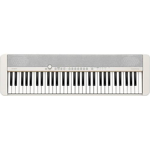 Casio Casiotone CT-S1 61-Key Portable Keyboard White