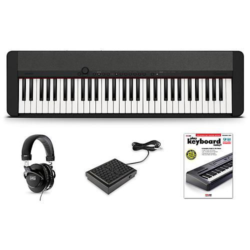 Casio Casiotone CT-S1 Keyboard Essentials Kit Black