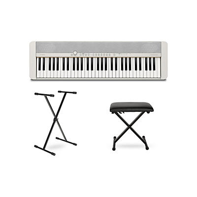 Casio Casiotone CT-S1 Keyboard with Stand and Bench