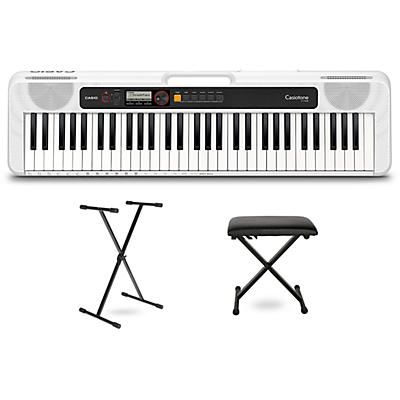 Casio Casiotone CT-S200 Keyboard with Stand and Bench