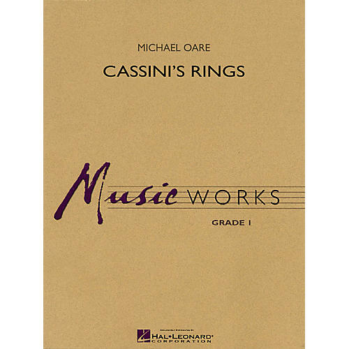 Hal Leonard Cassini's Rings Concert Band Level 1.5 Composed by Michael Oare