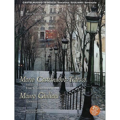 Music Minus One Castelnuovo-Tedesco: Sonatina & Giulini: Serenata Op. 127 for Guitar and Flute Music Minus One BK/CD