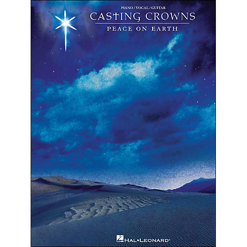 Hal Leonard Casting Crowns Peace On Earth arranged for piano, vocal, and guitar (P/V/G)
