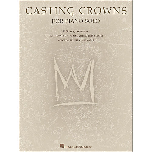 Hal Leonard Casting Crowns for Piano Solo