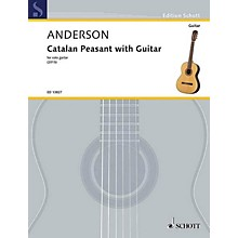 Schott Catalan Peasant with Guitar (for Solo Guitar) Guitar Series Softcover