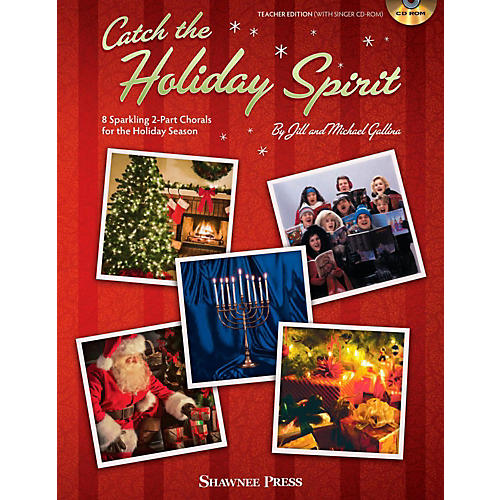 Hal Leonard Catch the Holiday Book/CD-ROM
