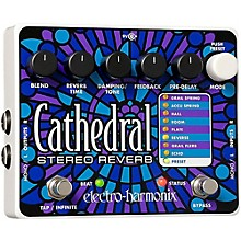 Open Box Electro-Harmonix Cathedral Stereo Reverb Guitar Effects Pedal