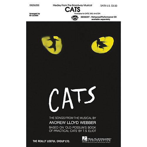 Hal Leonard Cats (Medley) SATB arranged by Ed Lojeski