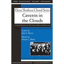 National Music Publishers Caverns in the Clouds SSA composed by Shayla L. Blake