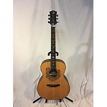 Luna Guitars Cel Horse Acoustic Electric Guitar