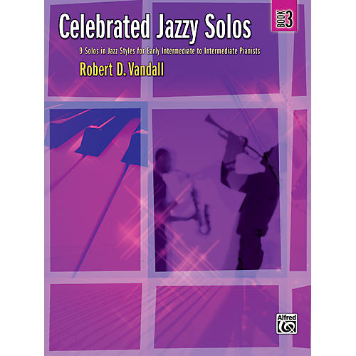 Alfred Celebrated Jazzy Solos Book 3 Piano