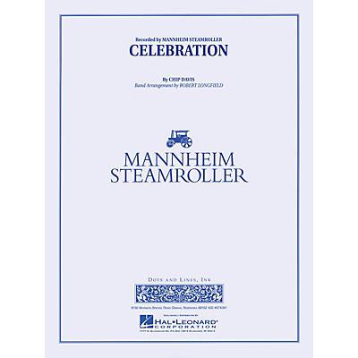 Mannheim Steamroller Celebration Concert Band Level 3-4 by Mannheim Steamroller Arranged by Robert Longfield