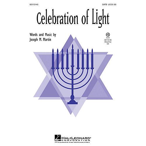 Hal Leonard Celebration of Light SATB composed by Joseph Martin