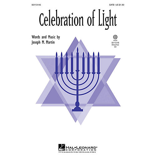 Hal Leonard Celebration of Light ShowTrax CD Composed by Joseph Martin