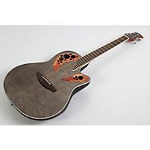 Open BoxOvation Celebrity Elite Exotic Super Shallow Acoustic-Electric Guitar