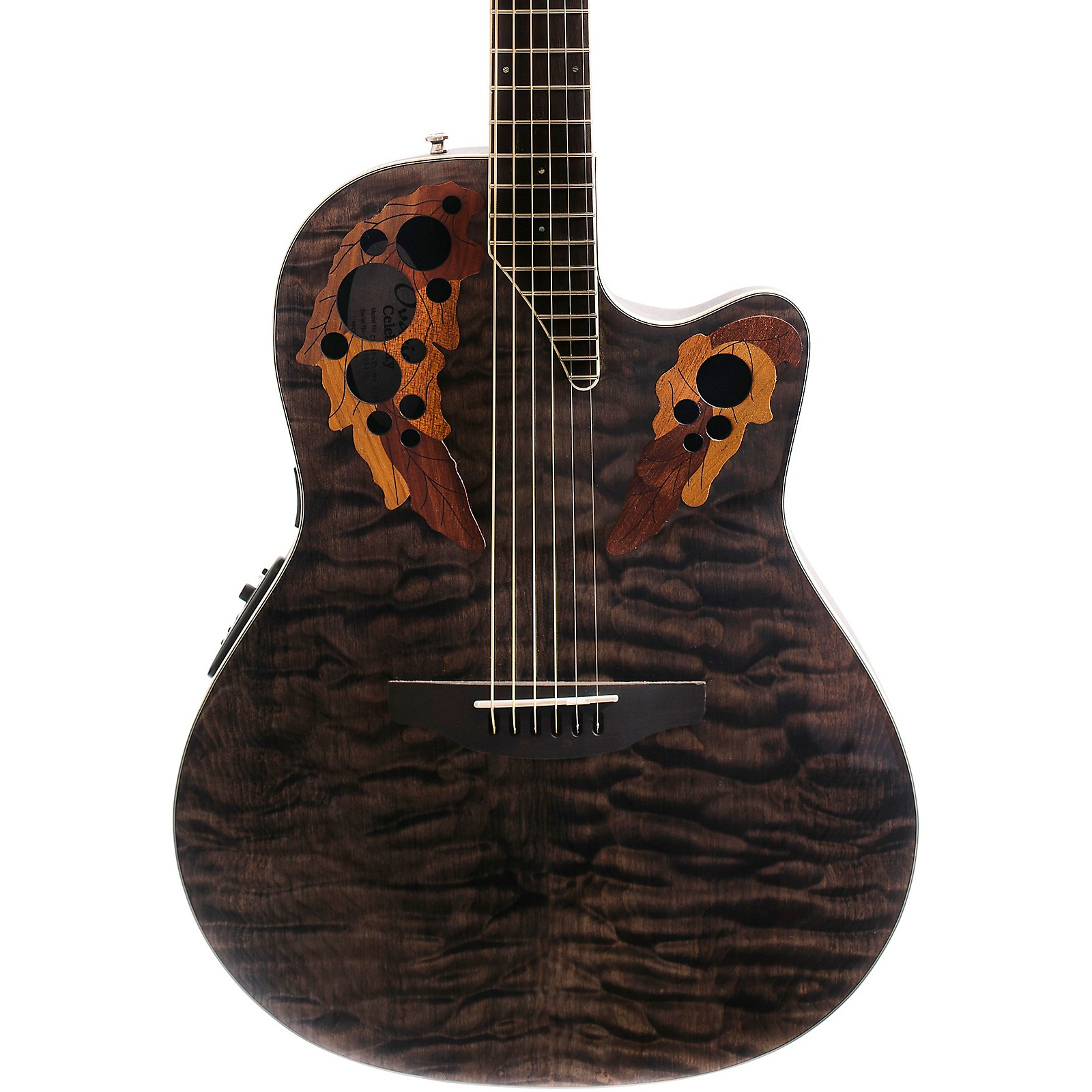 Ovation Celebrity Elite Exotic Super Shallow Acoustic-Electric Guitar