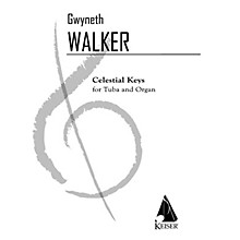 Lauren Keiser Music Publishing Celestial Keys (Tuba and Piano) LKM Music Series Composed by Gwyneth Walker
