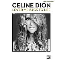 Alfred Celine Dion - Loved Me Back to Life P/V/C Book