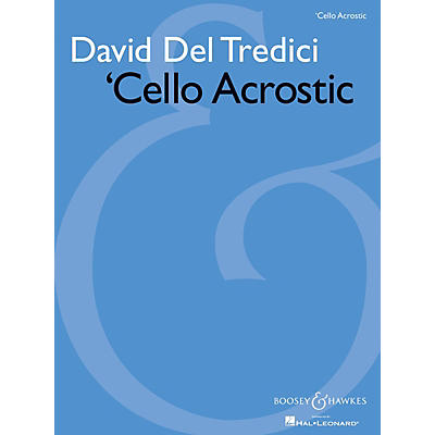Boosey and Hawkes 'Cello Acrostic (for Solo Cello) Boosey & Hawkes Chamber Music Series Softcover