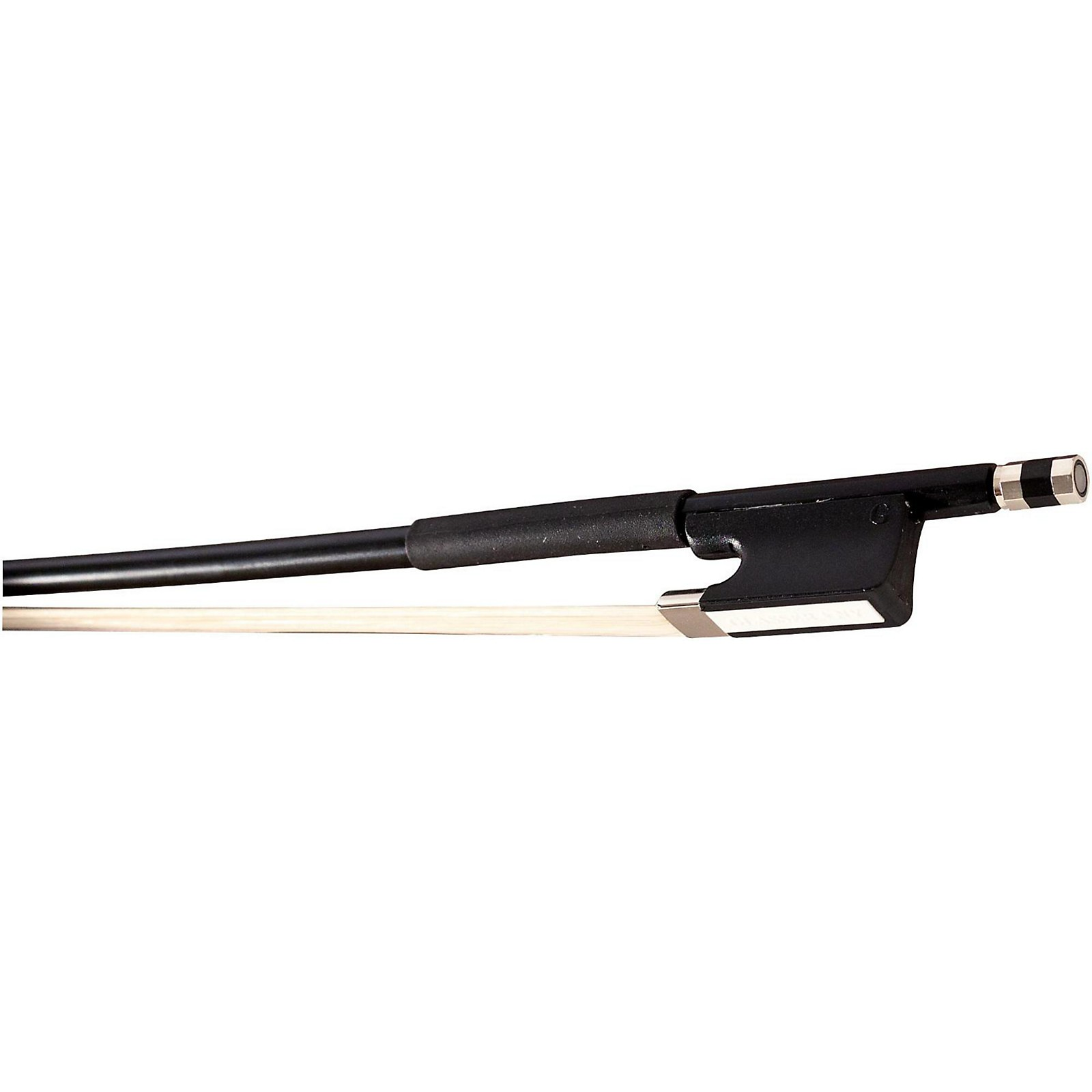 Glasser Cello Bow Fiberglass Half-Lined Frog Leatherette Grip