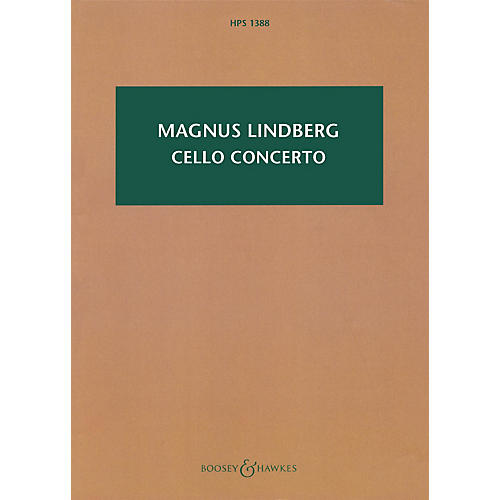 Boosey and Hawkes Cello Concerto Boosey & Hawkes Chamber Music Series Softcover Composed by Magnus Lindberg